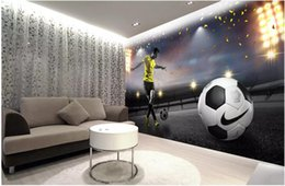 $enCountryForm.capitalKeyWord Australia - WDBH 3d wallpaper custom photo Large football field lights living Room Scenery painting home decor 3d wall murals wallpaper for walls 3 d