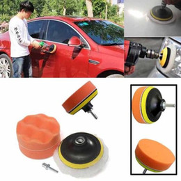 car remove tool 2019 - for 7 Pcs Polishing Buffing Pad for Auto Polishing Wheel Kit Buffer With Drill Adapter Removes Scratches Car-styling che
