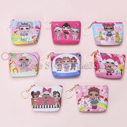 $enCountryForm.capitalKeyWord Australia - Mini LOL Purse Coin Bag Cartoon Student Coin lol Storage Bag Bluetooth headset candy storage box Storage Bag Kids Purse