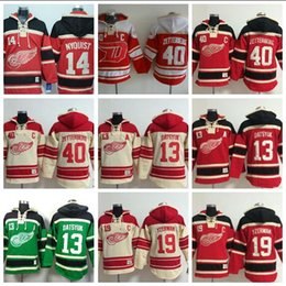 $enCountryForm.capitalKeyWord UK - Top Quality ! Red Wings Old Time Hockey Jerseys #14 Gustav Nyquist Red Hoodie Pullover Sweatshirts Winter Jacket