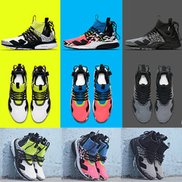 new product 5942e 3c56c 2019 New ACRONYM X Presto Mid V2 Men Running Shoes Racer Pink Cool Grey  Darts Street Designer Training Sneakers Camouflage Graffiti Shoes