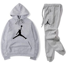 China NEW Mens Sweat Suits Sets Jogger Tracksuit Jackets +Pants Suit Hip Hop Black Gray women Tracksuits Tennis sport Hoodies+Pants suppliers
