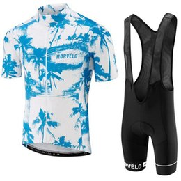 $enCountryForm.capitalKeyWord UK - Men Cycling Jersey Morvelo Team Summe short sleeve bike shirt Bib shorts set race fit bicycle clothing factory direct sale Y050906