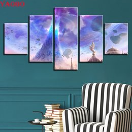 $enCountryForm.capitalKeyWord Australia - 5 Pieces Aion Angels Lights Floating Rocks Pictures diamond painting cross stitch Diamond embroidery,diamond mosaic Artwork
