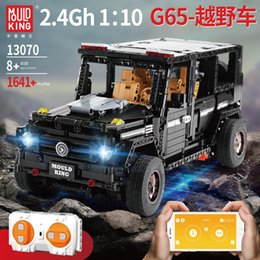 building remote control cars Australia - BRABUS G650 Car Model Building Block, DIY Electric Remote Control Toy, Programmable, Voice Control, for Kid' Birthday' Party Christmas Gifts
