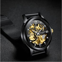 $enCountryForm.capitalKeyWord Australia - Skeleton Watch 2019 New FNGEEN Sport Mechanical Watch Mens Watches Top Montre Homme Clock Men Automatic Watch