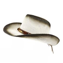 0df0af288d0c8 Paper Visors UK - Summer Black Spray Paint Breathable Women Ladies Panama Paper  Straw Hat Leather