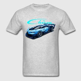 vision print Australia - Printed Men T Shirt Cotton Tshirts O - Neck Short - Sleeve Bugatti Chiron Vision Gt Women T-shirt