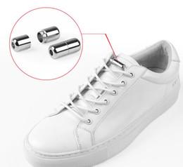 $enCountryForm.capitalKeyWord Australia - New Fashion Women Men Children Elastic Force Shoelace Metal Capsule Buckle Shoe Laces For Sneakers Casual Shoes Supply Acces