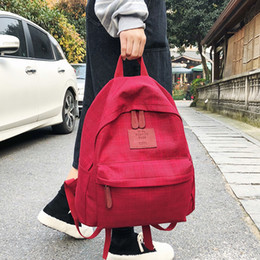 $enCountryForm.capitalKeyWord NZ - DCIMOR Fashion Plaid women backpack student schoolbag for Teenage girls cotton Travel bag Female Bookbag Mochilas for college