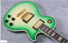 Electric Guitar Kits Mahogany Body NZ - Electric guitar China Guitar In Vintage green 22 Frets Guitar Body Kits Custom Available free shipping