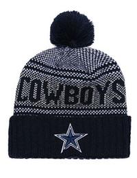 414571b684d Wholesale Top Quality Cowboys Football Beanies Men Women Sport Dallas Cuffed  Knit Hats Cheap Fashion Hip Hop Winter Warm Beanie Skull Caps