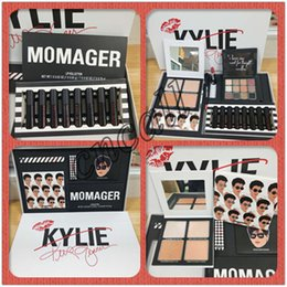 $enCountryForm.capitalKeyWord UK - Kylie MOMAGER makeup set MOMAGER Lip collection Lipgloss Lipstick set Eyeshadow highlighters Mothers Day Gift free shipping