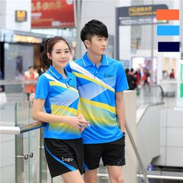 Sportswear T Shirt Badminton Australia - I6 Butterfly Badminton Suit Sportswear for Men & Women Short Sleeve T-shirt Leisure Running Basketball casual wear Table tennis B36150