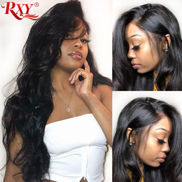 TransparenT wig online shopping - 360 full lace human hair wigs body wave human hair lace front wigs pre plucked glueless full lace front human hair wigs