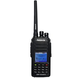 Ways Gps Australia - DMR Digital (GPS) Walkie Talkie Retevis RT8 IP67 Waterproof Dual Band VHF UHF 1000CH Two Way Radio Portable Radio Set A9115A