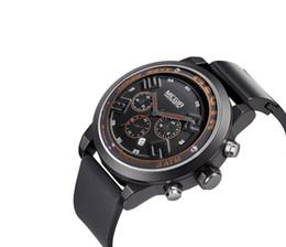 $enCountryForm.capitalKeyWord UK - Hot sale BRW Men's watch silicone belt fashion sports luminous calendar large dial men's quartz watch