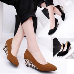 d4e90842b Designer Dress Shoes YOUYEDIANsummer Fashion Women Round Toe Platform High  Heels Sandals Slip-on Slope Career sandalias mujer plataforma 3