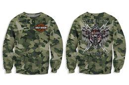 New Wardrobe Australia - Fashion New Camouflage Halley Pattern 3D Printed Sanitary Wardrobe Men's Jacket Big Tide Couples dress