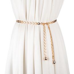 $enCountryForm.capitalKeyWord Australia - Hip High Waist Gold Silver Belts for Women Fashion Waistbands All-match belt for Party Jewelry Dress Waist metal Chain Belts