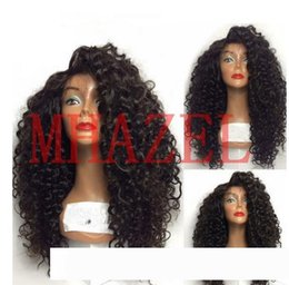 real human hair curly wigs NZ - MHAZEL Real Hair Kinky Curly pelucas Lace Front Human Hair Wigs For Black Women Brazilian Baby Hair 130