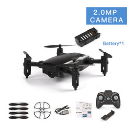 Helicopters Toys Camera Australia - LF606 RC Drone With 720P Camera FPV Quadcopter Foldable RC Drones HD Altitude Hold Mini Drone Children Kid Toys Helicopter