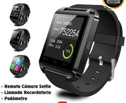 Best Smart Watches Android Australia - smart watch U8 Smart Watch Bluetooth Phone Mate Smartwatch Wrist for Android iOS iPhone Samsung Free Shipping best 2019