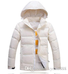 high hat stands NZ - Autumn and Winter New Mens Designer Jackets Stand Collar Light High Quality Luxury White Goose Down Jacket Comfortable Warm Down Jacket 012