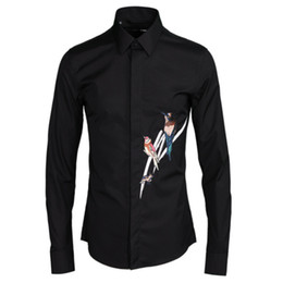 Summer and spring long-sleeved cotton shirt men fashion black solid shirts  male casual business quality shirt mens overhemd 2195f963df89