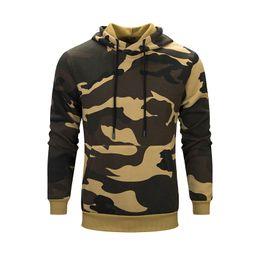 d0a324780f50 TFETTERS Men s Camouflage Sport Hoodies Men 2019 Autumn Long Sleeve Men  Clothes Classic Camouflage Hoodies European Size S-2XL