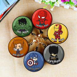 $enCountryForm.capitalKeyWord Australia - Manwei Avenger Alliance Spider-Man US.Captain Round Tin Iron Box Purse Mini Wallet Key Bag Coin Money Storage Bag Candy Box Wallet C22