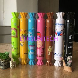 $enCountryForm.capitalKeyWord NZ - 10pcs lot Fashion Creative Bottle Umbrella Colorful Candy Umbrella Cute Cartoon Umbrelal Gifts For Girl Kids