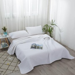 Discount chinese quilt covers Air conditioning quilt 4 piece Quilted solid bed cover Sheets Pillowcase pillowslip pillow cover Four seasons available