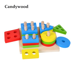 $enCountryForm.capitalKeyWord Australia - Baby Brain Development Toys Montessori Match Toy Geometric Sorting Board Wooden Blocks Kids Educational Toys Building Blocks Y190606