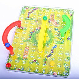 3d snake toy Canada - 3D Snakes Ladders Family Board Game Educational Puzzle Toy Children Leisure Toys Snake Shape Traditional For Children Gifts