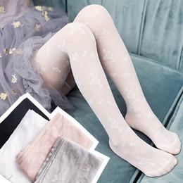 Gray Leggings Wholesale Australia - Fashion kids summer clothes lace girls Pantyhose floral girls silk stockings kids Tights dance Kid Leggings kids designer clothes A5235