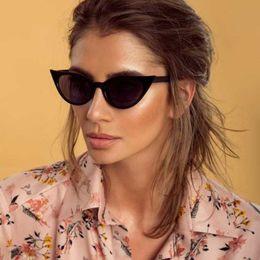 $enCountryForm.capitalKeyWord Australia - Cool personality street Fashion Vintage Cat Eye Sunglasses Women Brand Designer cute sexy Sun Glasses Goggles Oculos de sol