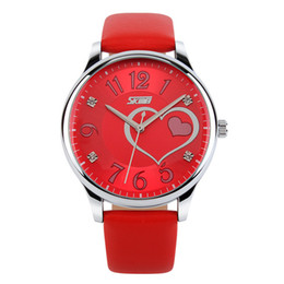 watches digital compass 2019 - 2Belt Ma'am Wrist Watch Trend Lovely Student Latest Fashion Surface Waterproof English Table 9085 discount watches