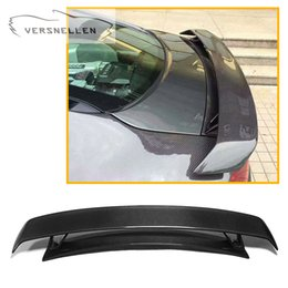 $enCountryForm.capitalKeyWord Australia - Rear Spoiler for Audi TT TTRS carbon Fiber Car Wing Lip Original car three-piece Carbon Fiber Rear Trunk Spoiler wing