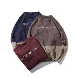 Man Sweaters For Sale Australia - new fashion men 39 s sweater winter casual mens sweaters 2018 quality men pullover oversized 5XL sweaters for couples hot sale
