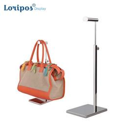 $enCountryForm.capitalKeyWord UK - Floor Landing Bag Holder Hook Table Bag Rack Bag Display Stand Hanger Women Man Handbag Display Stand For Desk Shelf Display