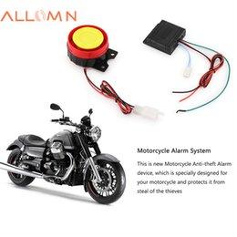$enCountryForm.capitalKeyWord Australia - ALLOMN 12V Motorcycle Alarm System Lock Motorbike Anti Theft Horn Alarm Warner Security System with Remote Control