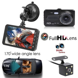 "$enCountryForm.capitalKeyWord NZ - 4"" touch panel car DVR full HD dashcam 2Ch video recorder dual lens front 170° rear 120° night vision G-sensor loop recording"