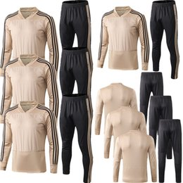 Cheap Clubbing tops online shopping - Soccer Sets Football Club Ajax High quality jerseys Breathable fabric Men Football suit Cheap jerseys Top uniforms Adult shirt
