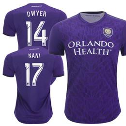 1cdb5da8440 2019 Orlando Soccer Jersey Home purple Football Uniform Shirt Orlando City  Youth Mendez Dwyer Nani Colman Jersey