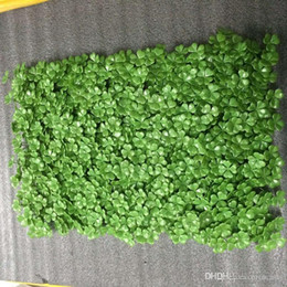 Green Plastic Grass Plant Australia - 40x60cm Green Grass Artificial Turf Plants Garden Ornament Plastic Lawns Carpet Wall For Wedding Xmas Party Decorations