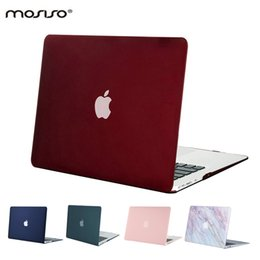 Plastic Notebook Case NZ - MOSISO Clear Crystal Mac Plastic Case Laptop Shell Hard Cover for Macbook .3 inch 2017 2016 2015 Notebook Sleeve