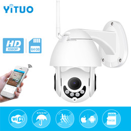 Onvif Camera Wifi Ptz Australia - IP Camera WiFi 2MP 1080P Wireless PTZ Speed Dome CCTV IR Onvif Camera Outdoor Waterproof Security Surveillance ipCam Camara exterior