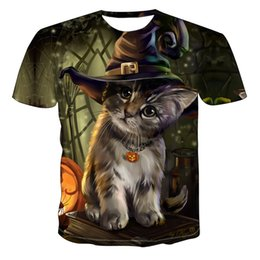 Wholesale personalize t shirt for sale – custom 2020 Men New Personalized T Shirt Animal Print T Shirt D Men s T Shirt Novelty Animal Tops T Shirt Men s Short Sleeve
