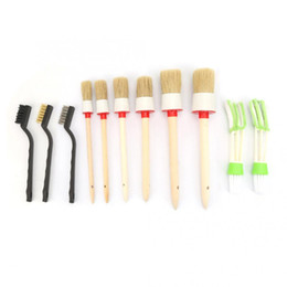 $enCountryForm.capitalKeyWord Australia - Conditioner Brush Set Round Chalk Paint Brush Dust Removal Soft hand tools